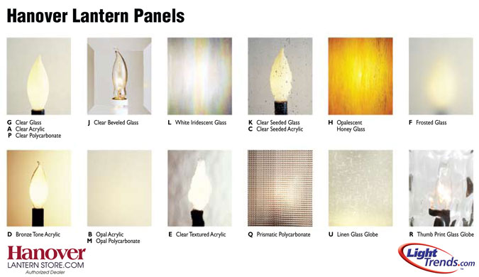 Hanover Lantern Panels