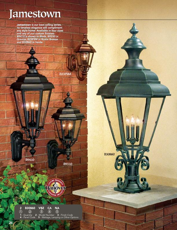 Hanover Lantern B9330 Medium Jamestown